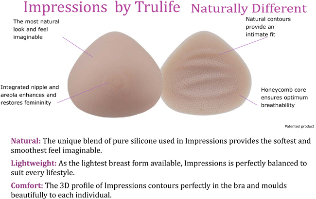 breast forms, lumpectomy, breast reduction, mastectomy